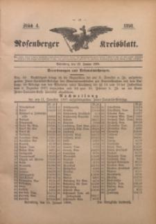 Rosenberger Kreisblatt, 1898, St. 4
