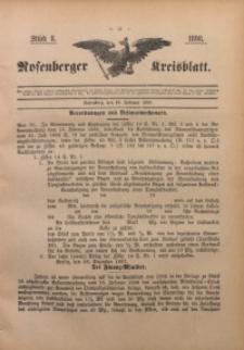 Rosenberger Kreisblatt, 1898, St. 8