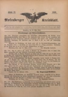 Rosenberger Kreisblatt, 1898, St. 12