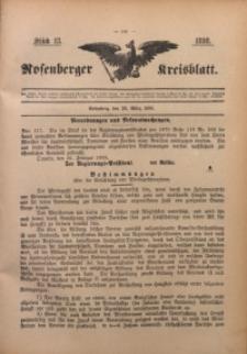 Rosenberger Kreisblatt, 1898, St. 13
