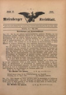 Rosenberger Kreisblatt, 1898, St. 19