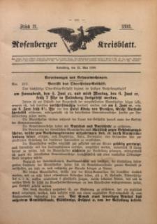 Rosenberger Kreisblatt, 1898, St. 21