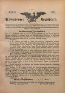 Rosenberger Kreisblatt, 1898, St. 24
