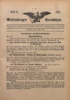 Rosenberger Kreisblatt, 1898, St. 26