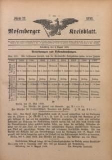 Rosenberger Kreisblatt, 1898, St. 32