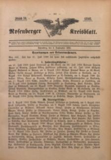 Rosenberger Kreisblatt, 1898, St. 36
