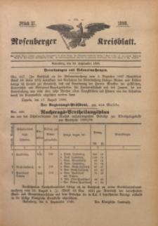Rosenberger Kreisblatt, 1898, St. 37