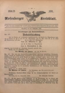 Rosenberger Kreisblatt, 1898, St. 39