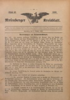 Rosenberger Kreisblatt, 1898, St. 40