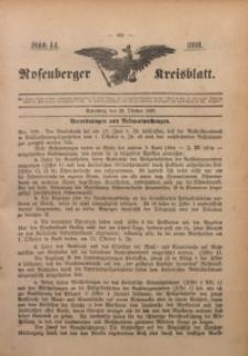 Rosenberger Kreisblatt, 1898, St. 44