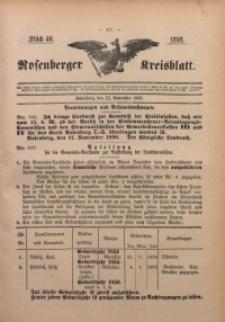 Rosenberger Kreisblatt, 1898, St. 46