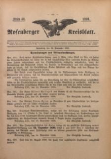 Rosenberger Kreisblatt, 1898, St. 48