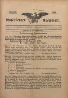 Rosenberger Kreisblatt, 1898, St. 50