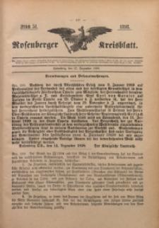 Rosenberger Kreisblatt, 1898, St. 51