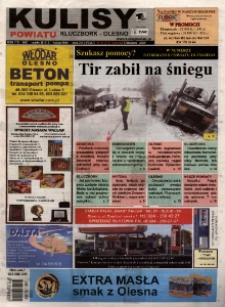 Kulisy Powiatu Kluczbork - Olesno 2009, nr 44 (312).