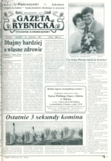 Gazeta Rybnicka, 1994, nr 6 (161)