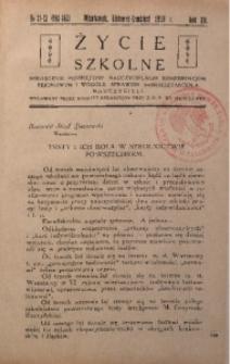 Życie Szkolne, 1934, R. 12, no 11/12