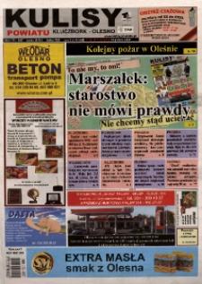 Kulisy Powiatu Kluczbork - Olesno 2009, nr 49 (317).