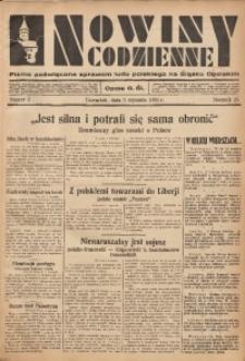 Nowiny Codzienne, 1935, R. 25, nr 2