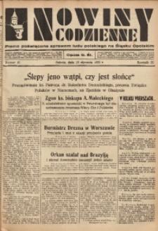 Nowiny Codzienne, 1935, R. 25, nr 16