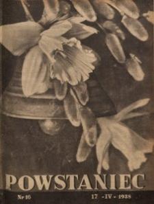 Powstaniec, 1938, R. 12, nr 16
