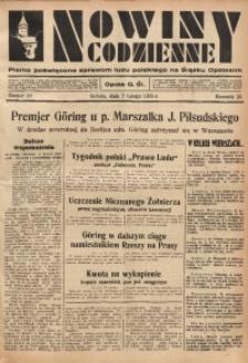 Nowiny Codzienne, 1935, R. 25, nr 28