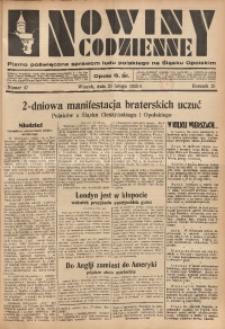 Nowiny Codzienne, 1935, R. 25, nr 47