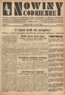 Nowiny Codzienne, 1935, R. 25, nr 64