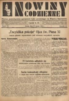 Nowiny Codzienne, 1935, R. 25, nr 72