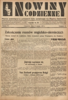 Nowiny Codzienne, 1935, R. 25, nr 73