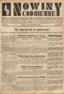 Nowiny Codzienne, 1935, R. 25, nr 87