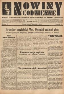 Nowiny Codzienne, 1935, R. 25, nr 97