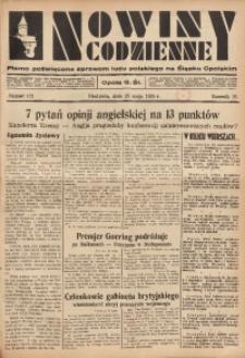 Nowiny Codzienne, 1935, R. 25, nr 121