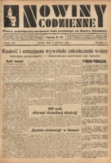 Nowiny Codzienne, 1935, R. 25, nr 136