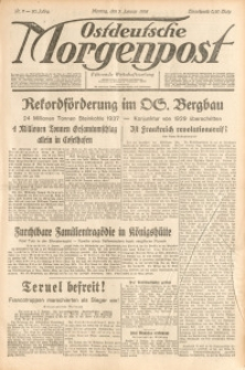 Ostdeutsche Morgenpost, 1938, Jg. 20, Nr. 2