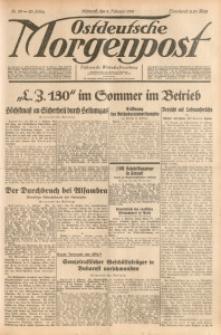 Ostdeutsche Morgenpost, 1938, Jg. 20, Nr. 39