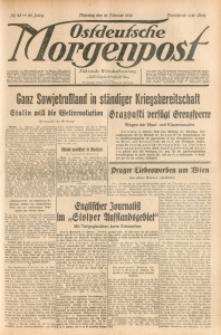 Ostdeutsche Morgenpost, 1938, Jg. 20, Nr. 45