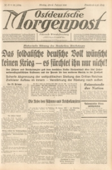 Ostdeutsche Morgenpost, 1938, Jg. 20, Nr. 51