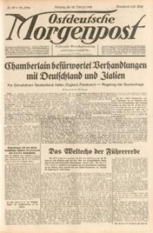 Ostdeutsche Morgenpost, 1938, Jg. 20, Nr. 52