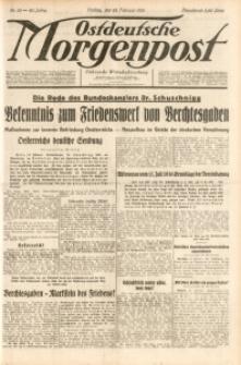 Ostdeutsche Morgenpost, 1938, Jg. 20, Nr. 55