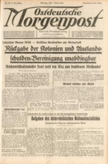 Ostdeutsche Morgenpost, 1938, Jg. 20, Nr. 65