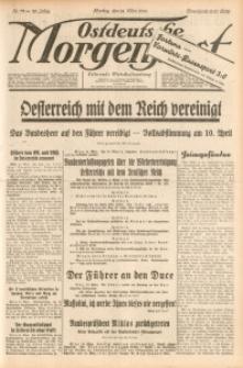Ostdeutsche Morgenpost, 1938, Jg. 20, Nr. 72