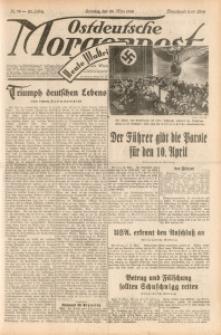 Ostdeutsche Morgenpost, 1938, Jg. 20, Nr. 78