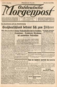 Ostdeutsche Morgenpost, 1938, Jg. 20, Nr. 81