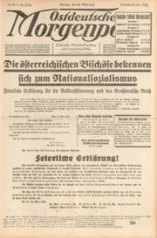 Ostdeutsche Morgenpost, 1938, Jg. 20, Nr. 86