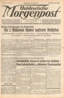 Ostdeutsche Morgenpost, 1938, Jg. 20, Nr. 87