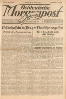 Ostdeutsche Morgenpost, 1938, Jg. 20, Nr. 222