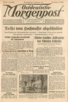 Ostdeutsche Morgenpost, 1938, Jg. 20, Nr. 242