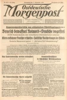 Ostdeutsche Morgenpost, 1938, Jg. 20, Nr. 256