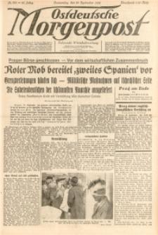 Ostdeutsche Morgenpost, 1938, Jg. 20, Nr. 261